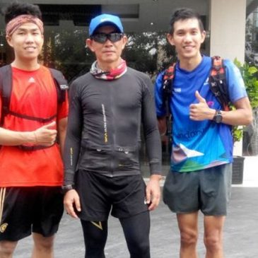 Hendra Wijaya : Running, Cycling, and Promoting Tourism along Sumatera on Trans Sumatera Duathlon Ultra 2432 Km